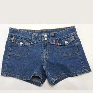 Juniors Levi's Denim Shorts Size 3